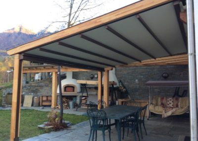 tenda esterna